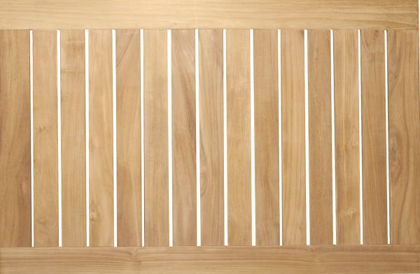 Teakholz Tischplatte