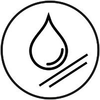 Fleckschutz / Wasserabweisend