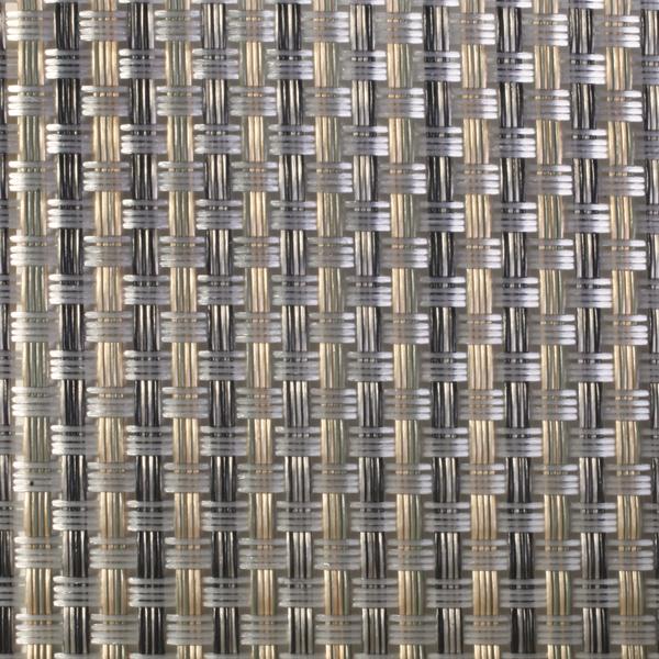 Polyamidgewebe bronze-silber-gold transparent