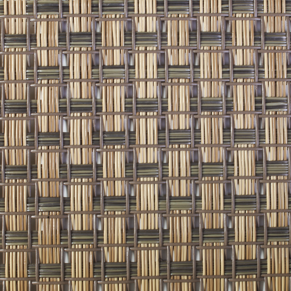 Polyamidgewebe grau-beige transparent