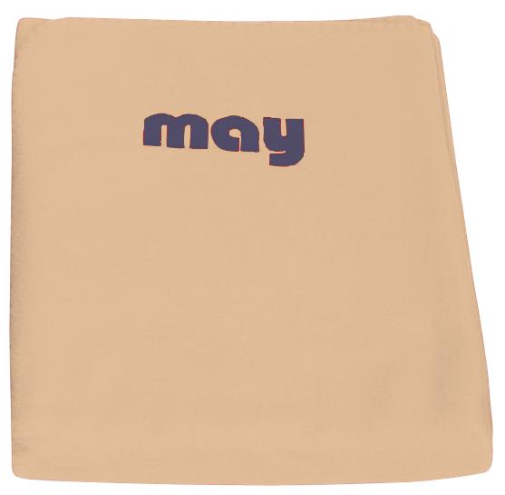 Fleece Decke mit may Logo
