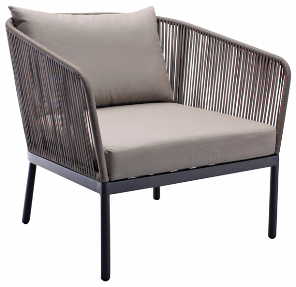 Loungesessel weiss outdoor  Trinidad Loungesessel | H. May KG
