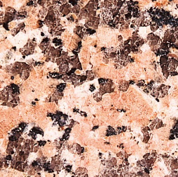 Granitplatte Rosa Perrino oval 120x65 cm