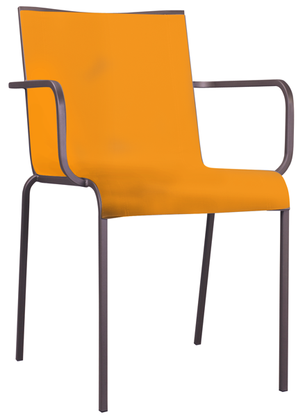 Crocket Sessel orange