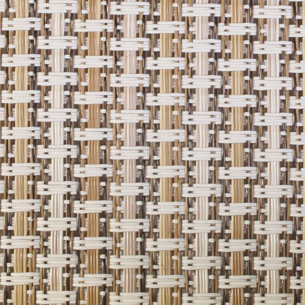 Polyamidgewebe beige-braun transparent